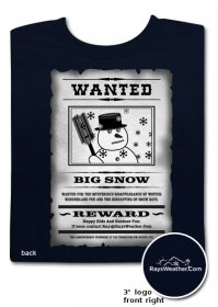 Big Snow Wanted T-Shirt